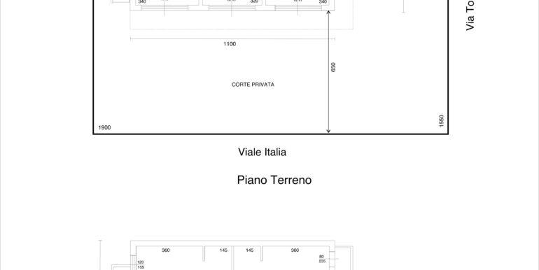 Planimetria Via Toscana - Copia