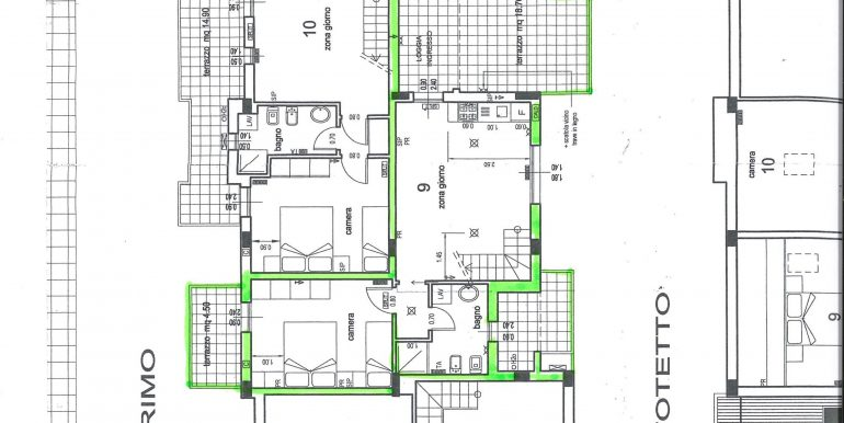 Signorile appartamento a Pinarella piano primo