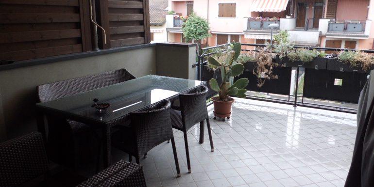 Signorile appartamento a Pinarella terrazzo