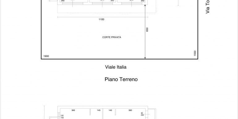Planimetria Via Toscana
