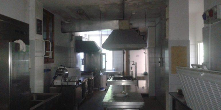 Hotel ristorante in affitto cucina