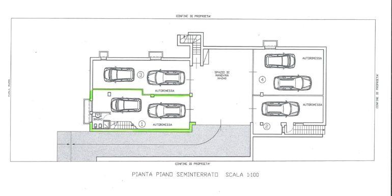planimetria interrato