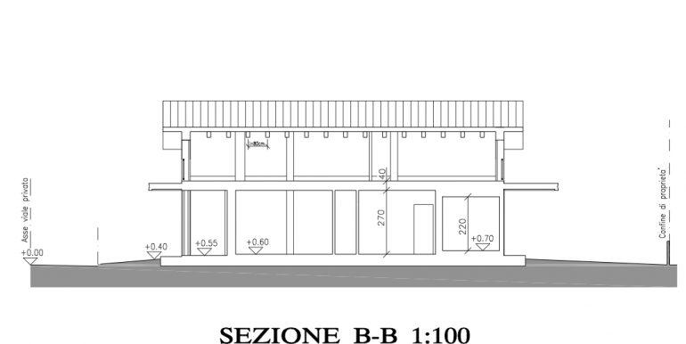 6 sezione laterale Vilal B