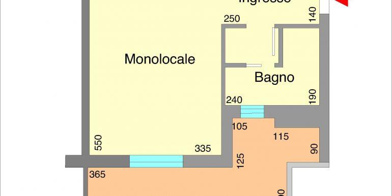 Monolocale in vendita a Castiglione di Cervia